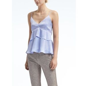 Banana Republic Layered Peplum Camisole.